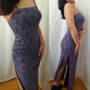 VTG Y2K Crochet Dress